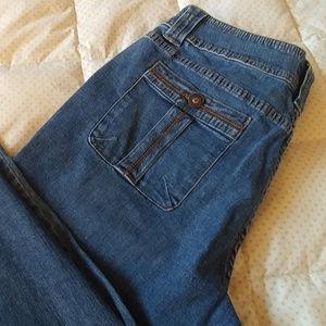 Coldwater Creek capri, cargo jeans
